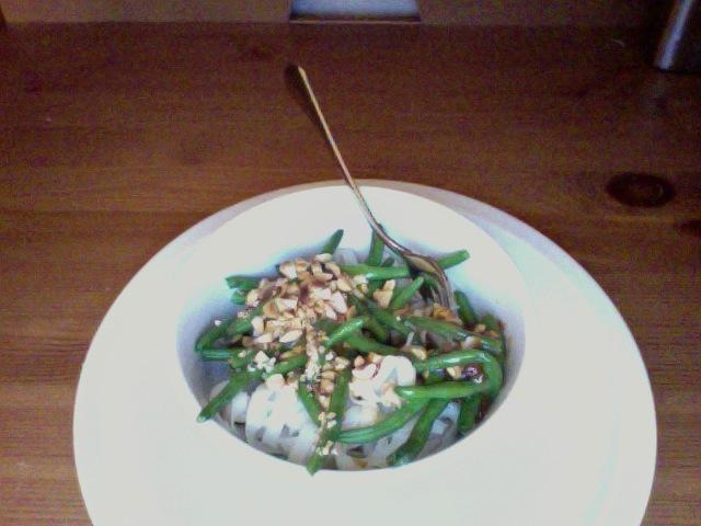 Peanut Rice Noodles Recipe