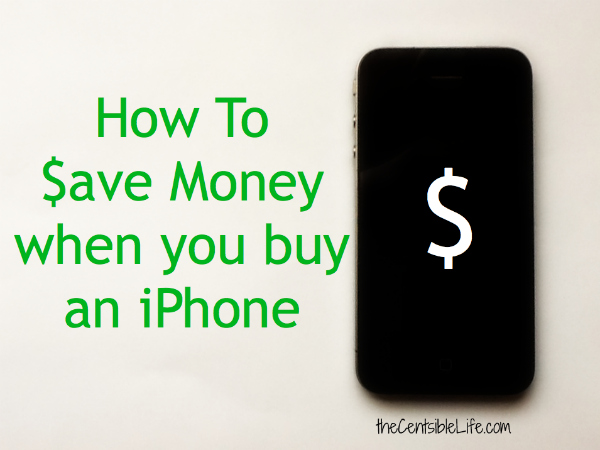 Save Money Buy iPhone