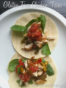 Gluten-Free Chicken Tacos