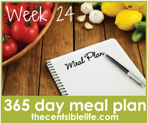 365 Day Meal Plan:: Week 24
