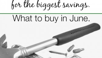 what to buy in june
