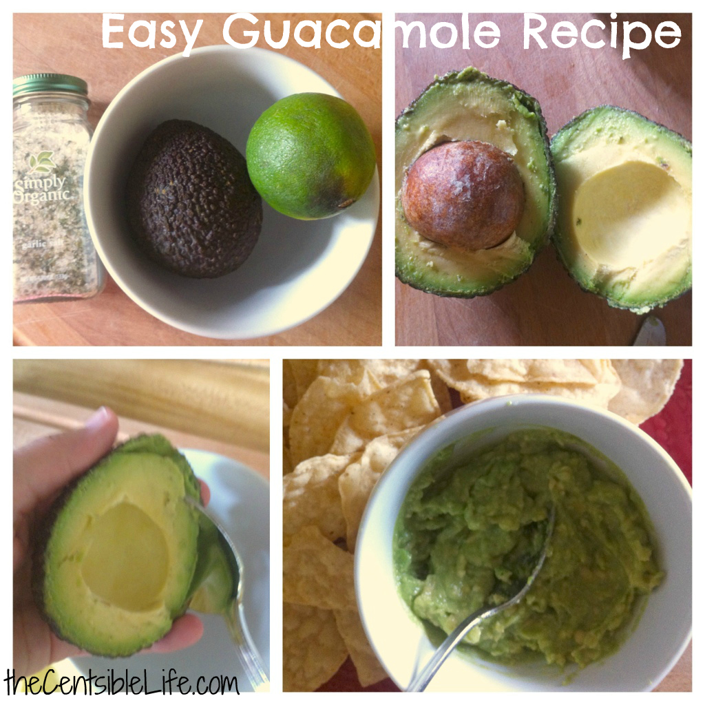 Easy Guacamole Recipe: Three Ingredients - Centsible Life