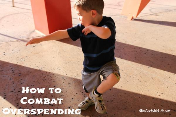 How to combat overspending