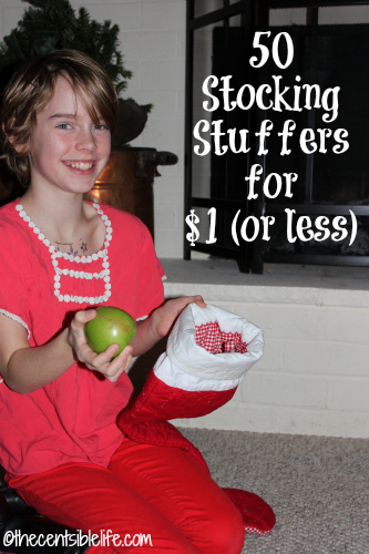50 Stocking Stuffers for under $1