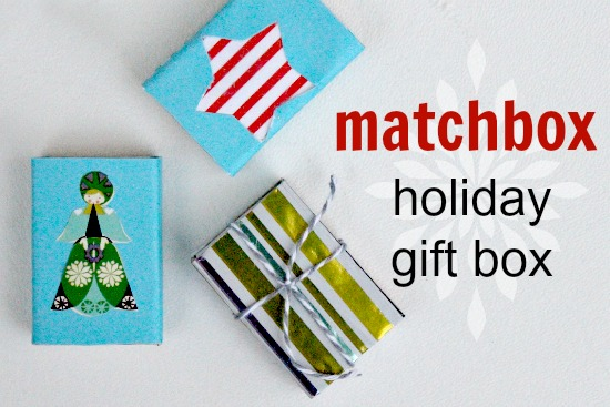 Match Box Holiday Gift Box by The Centsible Life