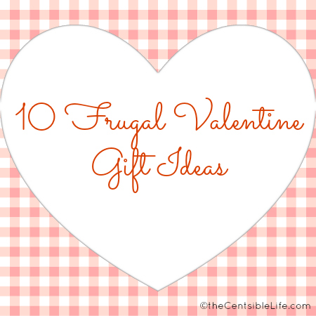 Frugal Valentine Gifts