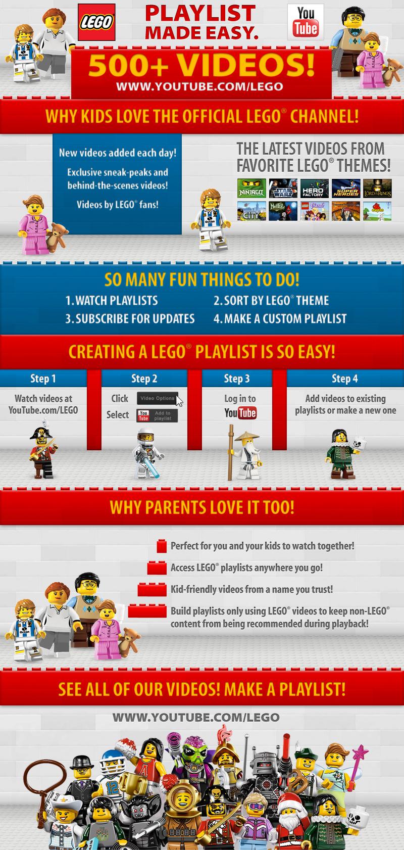 How to Create Custom LEGO Video Playlists