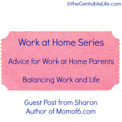 "How to Balance Your Work-at-Home Life with Your ""Real""Life"