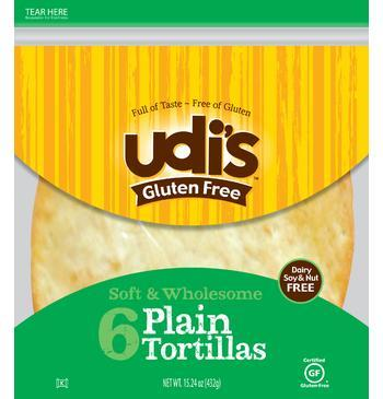 Gluten-Free BBQ Ranch Chicken Wraps and Udi's Tortilla Review