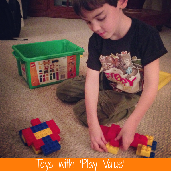 Toys with Play Value