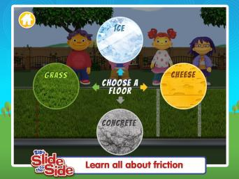 Friction Sid the Science Kid