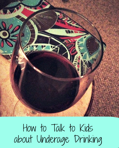 Thumbnail image for How to Talk to Kids about Underage Drinking {Sponsored}