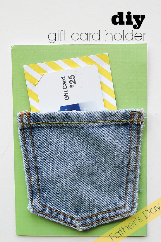 DIY Gift Card Holder for Father's Day
