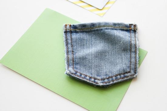 jean pocket crafts