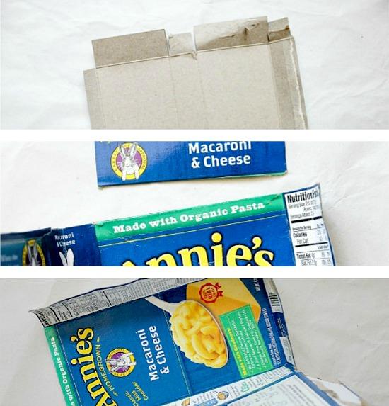Cardbox box recycled craft