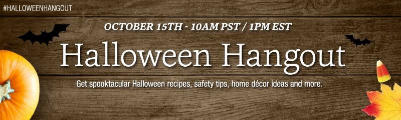 G+ PC halloween hangout banner