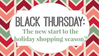 Black Thursday? The new start of the holiday shopping season?