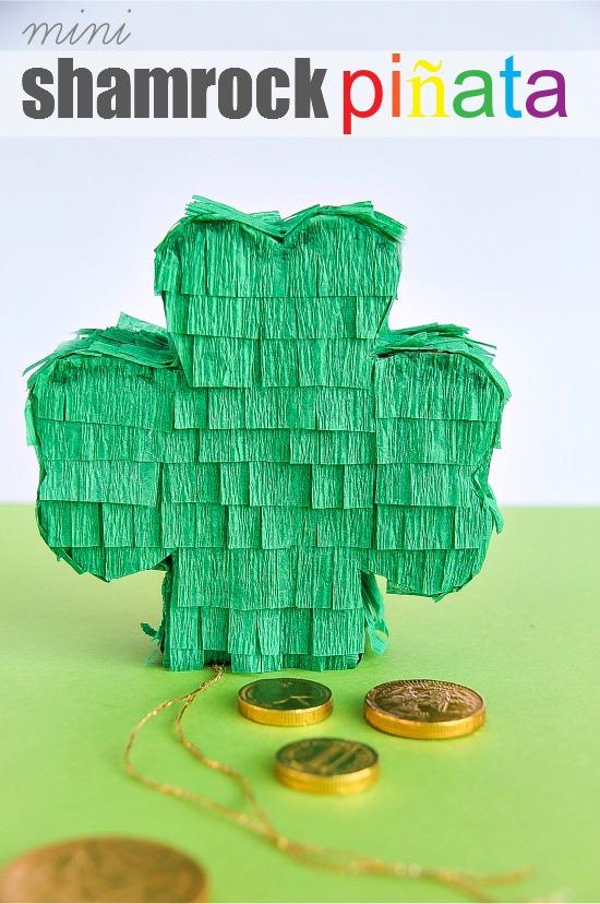 DIY St. Patrick's Day piñata