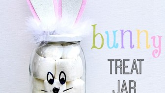DIY Bunny Treat Jar