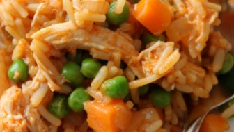 Knorr Makes Dinner Easy: Spanish Chicken and Rice Recipe