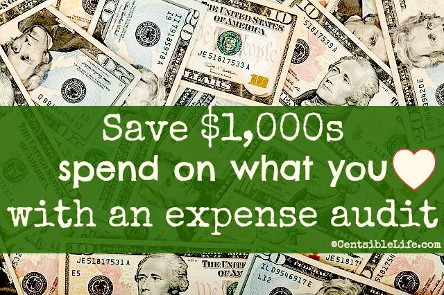 Expense audit