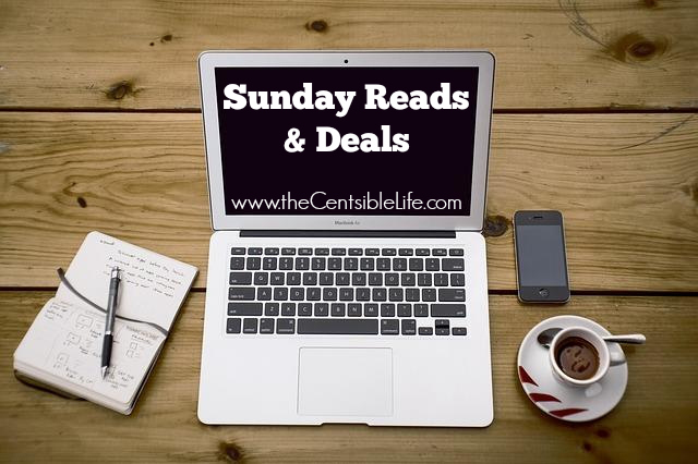 Sunday Reads and Deals Centsible Life
