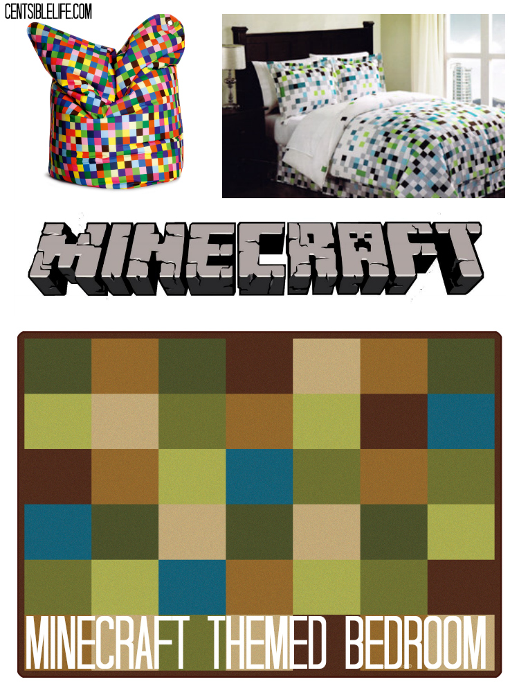 Minecraft bedroom ideas for Bedroom ideas on minecraft