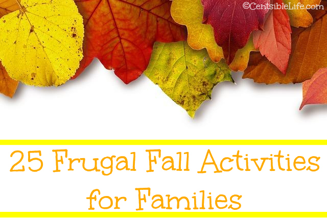 25 Frugal Fall Activities for Families