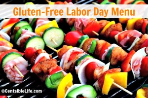 Gluten Free Labor Day Menu