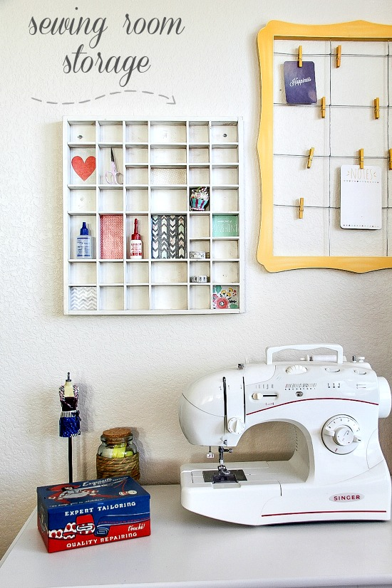 diy sewing room storage ideas