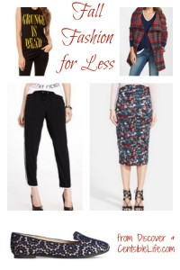 Fall Fashion for Less
