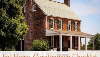 Fall Home Maintenance List with HomeZada
