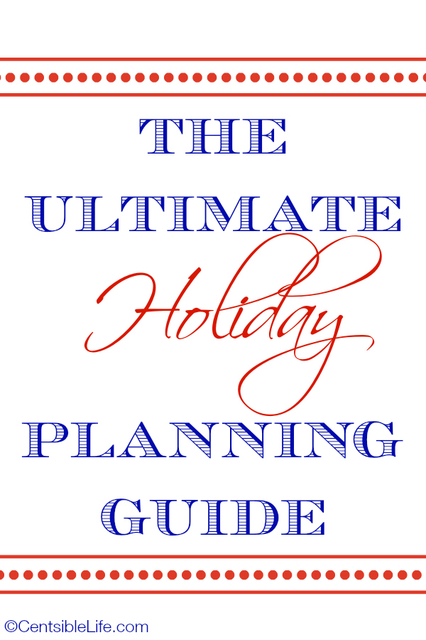 The Ultimate Holiday Planning Guide