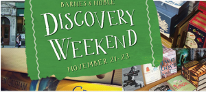 Barnes & Noble Discovery Weekend