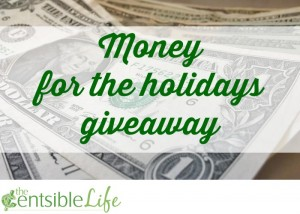 Money for the holidays giveaway