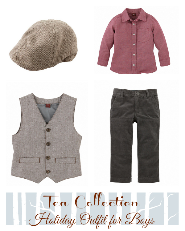 Tea Collection Holiday Outfit for Boys