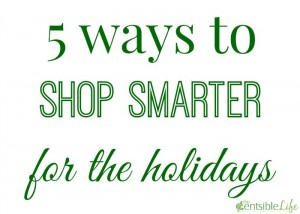 5 Ways to Shop Smarter this Holiday Season