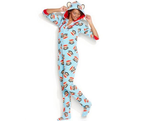 Paul Frank footie pajamas