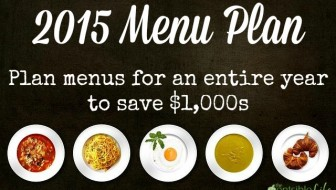 365 Day Meal Plan with Free Templates & Grocery List
