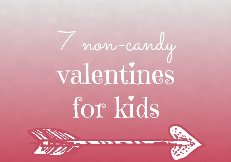 7 non-candy valentines for kids