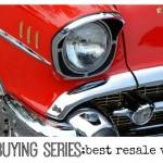 Car Buying Series best resale value