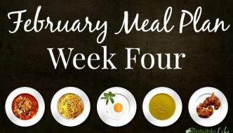 February Meal Plan Week Four