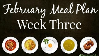 February Meal Plan Week Three