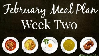 February Week Two Meal Plan