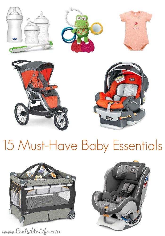 15 must-have baby essentials