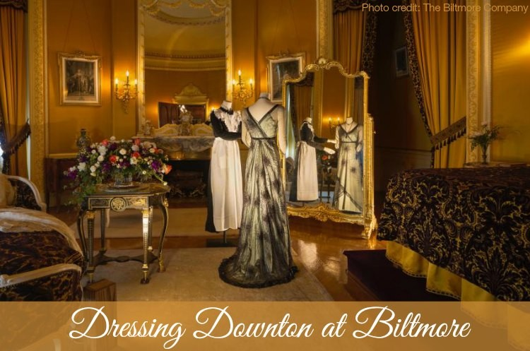 Downton Abbey Lady Mary Crawley dressing Downton Biltmore