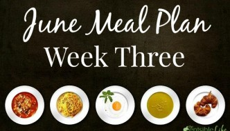 June Meal Plan: Week Three