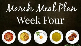 March Meal Plan week four