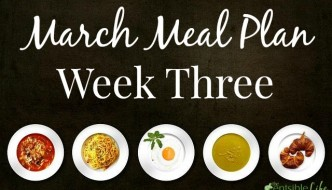 March Meal Plan week three