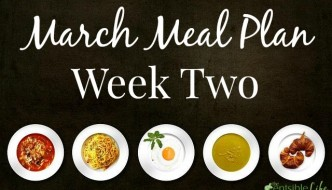 March Meal Plan week two